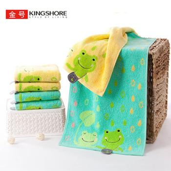 金号 毛巾童巾洗脸家用 纯棉