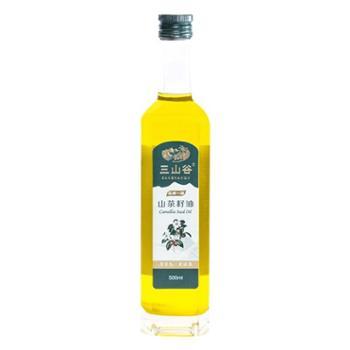 三山谷 山茶籽油 500ml*1瓶