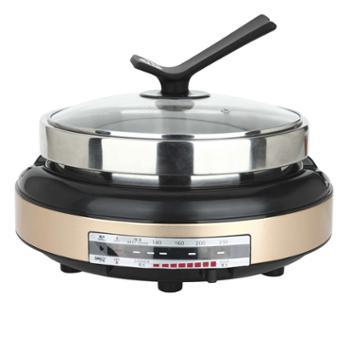 北美电器(ACA)5L多用电热锅一锅多用360度循环加热ALY-HG1640J