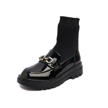 yolandazula春秋单靴毛线针织鞋