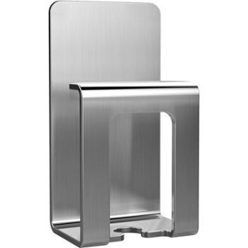 一款304不锈钢牙刷架漱口杯架吸壁式卫生间置物架免打孔壁挂2个装