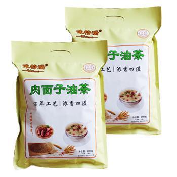 味特瑞肉面子油茶600g*2袋
