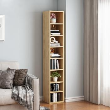 书架置物架现代简约书柜落地客厅多层收纳架