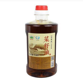 诺水河 通江 压榨菜籽油 1.5升