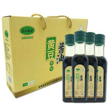 苏合秾园黄豆酱油280ml*4瓶