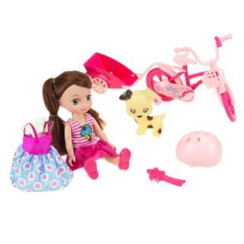 婴侍卫单车相伴的童年过家家玩具套装2706