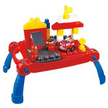 婴侍卫消防保卫积木桌(30PCS)76943