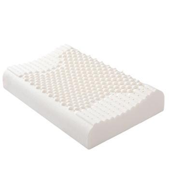 乳胶枕枕头单人双人学生保健护颈椎枕成人家用枕芯一对装多维气孔舒爽透气