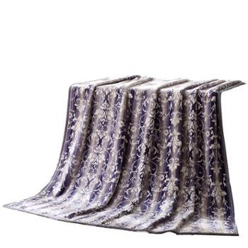 LOVO家纺雅高双层盖毯VBR1801-2180x200cm