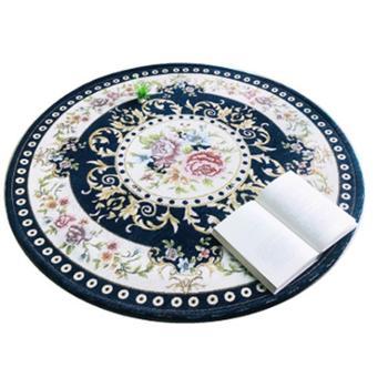 馨家港湾提花圆形地毯聚酯纤维(涤纶)欧式