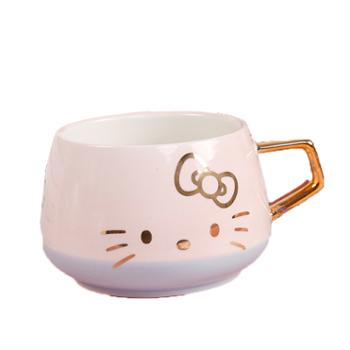 hellokitty咖啡陶瓷对杯