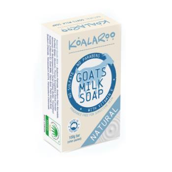 KoalaRoo 羊奶香皂5块 (玫瑰味3块 原味2块)