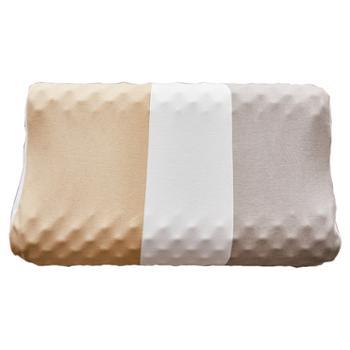 释享空间天然乳胶枕原装进口按摩枕天然乳胶