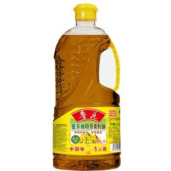鲁花 低芥酸特香物理压榨菜籽油 1.6L
