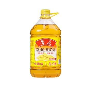 鲁花 5S 物理压榨 一级花生油 5L