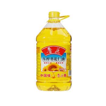 鲁花 物理压榨葵花仁油 4L