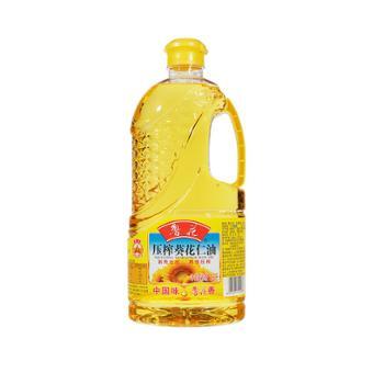 鲁花 物理压榨葵花仁油 1.6L