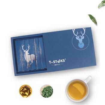 T-STKS鹿在东方棒棒茶茶棒紫阳红茶袋泡茶6支/盒
