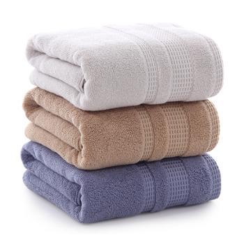 图强浴巾纯棉一条装70*140cm