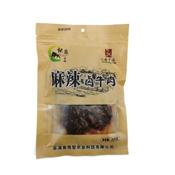 张巍 麻辣卤牛肉重庆巫溪特产 200g