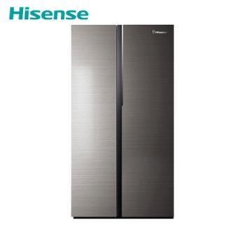 海信(Hisense)530L纤薄对开门冰箱【BCD-530WTGVBP】