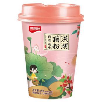 洪湖水乡 杯装藕粉桂花味/红枣味/原味 40g*3杯