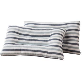 蕊丝坊/RIOUS 升级款决明子定型枕 一对装 亲肤面料,柔软透气。