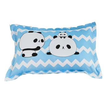 蕊丝坊/RIOUS 简约纯棉枕套 一对装 48*74cm
