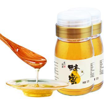 雁门清高 百花蜜农家蜂蜜 500gX2瓶