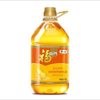 福临门 花生原香食用植物调和油 5L/桶