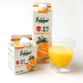 森美 NFC橙汁 1L*6盒