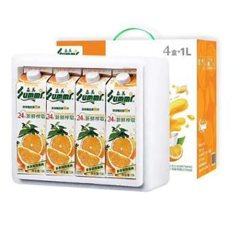 森美 NFC橙汁 1L*4盒