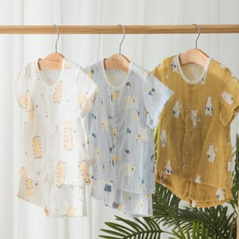 威尔贝鲁儿童套装婴儿套装小孩衣服纯棉