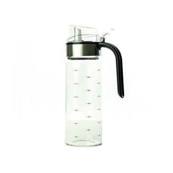 海畅玻璃防漏油瓶醋瓶液体调味瓶油壶330ml