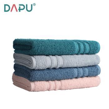大朴A类浴巾素色高毛圈纯棉吸水INS风高毛圈