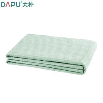 大朴A类纯棉色织条纹毛巾被