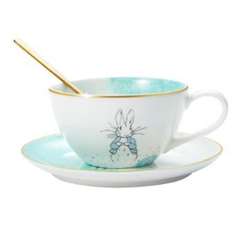 比得兔(Peter Rabbit)浪花系列-咖啡杯碟勺组合 PR-T135