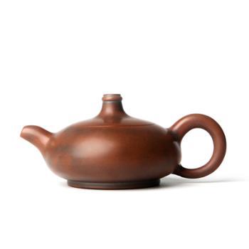 壶福源 钦州坭兴陶茶壶 无尘