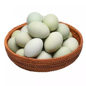 鲜果果 山林散养新鲜绿壳鸡蛋 30枚