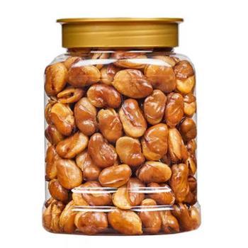 浮闲 牛肉味香酥蚕豆 450g/罐