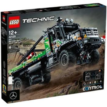LEGO乐高42129梅赛德斯越野卡车机械组系列男孩积木玩具